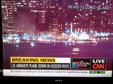 Plane crashes into Hudson River - NY 1