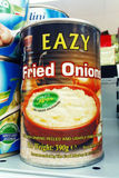 Great idea - canned fried onions