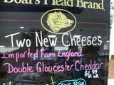 Cheese from an exotic, far away land.
