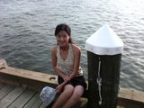 On the pier in Greenport