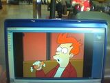 Watching Futurama