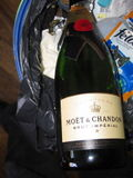champagne had to be drunk