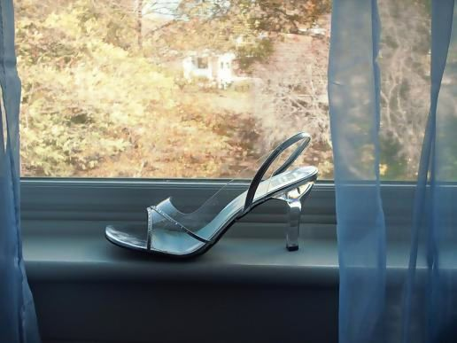 Glass slipper shoeblogging