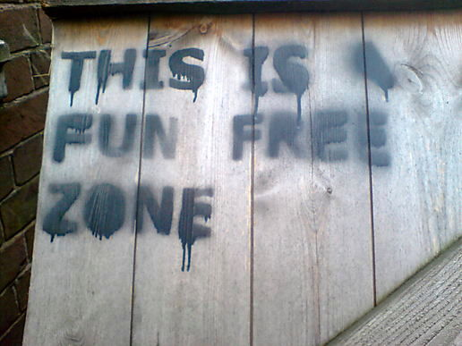 This is a fun free zone