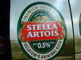 Low alcohol Stella?!