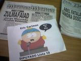 Argentina election day -- I vote for Cartman