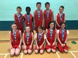 The Basketball team came second at the Rushcliffe finals.