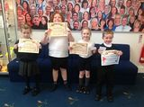 Well done to our star pupils'!