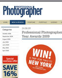 Win a Trip to New York  with Professional Photographer