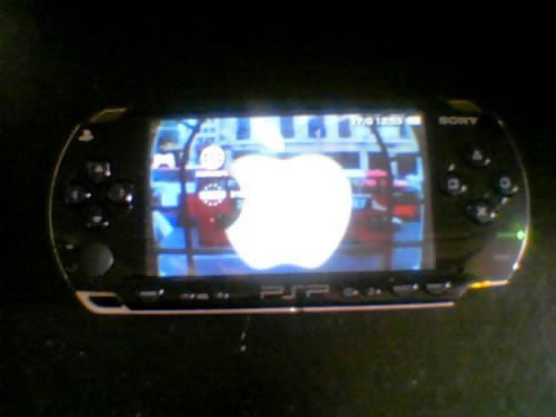 my psp is now running osX. yup