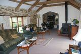 Inside the cottage