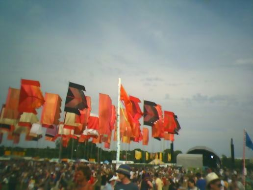 Glastonbury - Flags