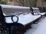Icy Benches