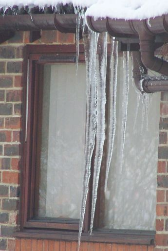When icicles hang by the wall...