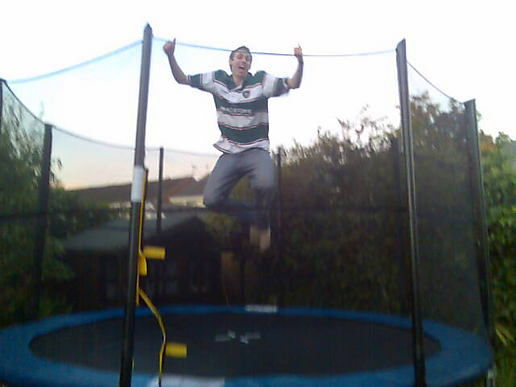 Special needs trampoline
