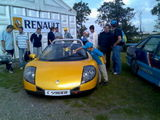 Renault racing day