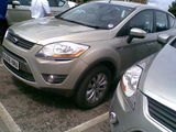The new Ford Kuga test drive
