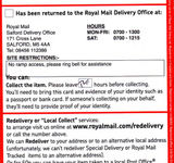 Royal Mail are shit!