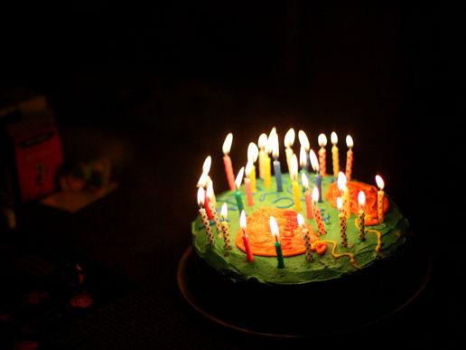 Birthday Cake Richard Eagle Or Bison