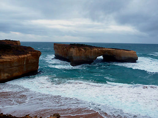 """London Bridge"" and Loch Ard Gorge"