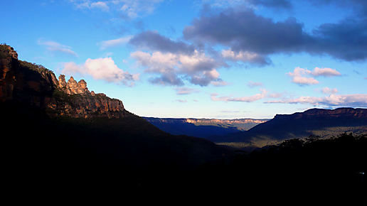 More Blue Mountains...