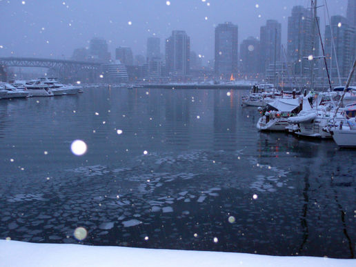 More Vancouver snow