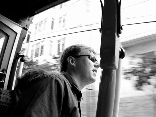 Riding the trams