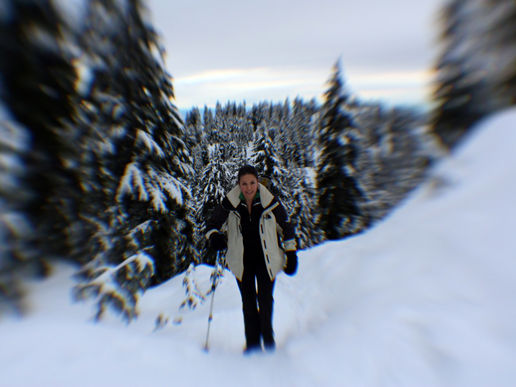 snowshoeing/snowsliding...