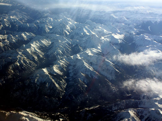 The Rocky Mountains...