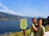 Pedalo perspiration in Penticton