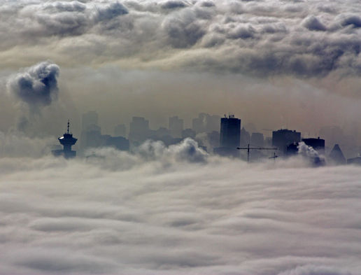 Vancouver, island in the sky...