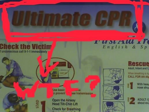Opposed to regular, every day CPR?