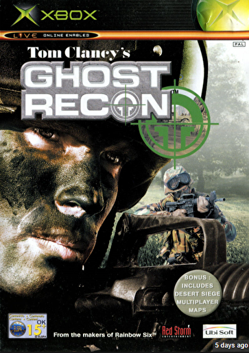 Tom Clancy's Ghost Recon Xbox ISO Roms Free Download, at
