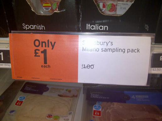 Irresistible savings at Sainsbury's