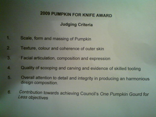 Ofiice Pumkin Competition