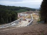 Hindhead tunnel progress