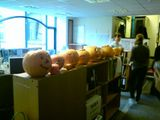 Office pumpkin competition