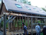Wooden eco-house