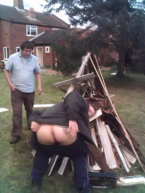 burnination preparation (and a Geordie's arse)