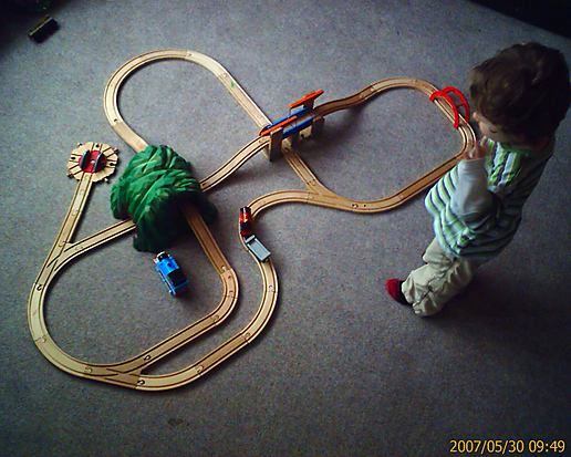 Playing with tracks