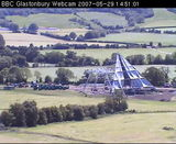 Yeah, live Pyramid Stage webcam