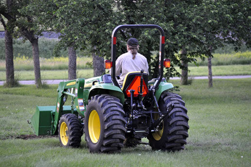 Dave and his new Tractor