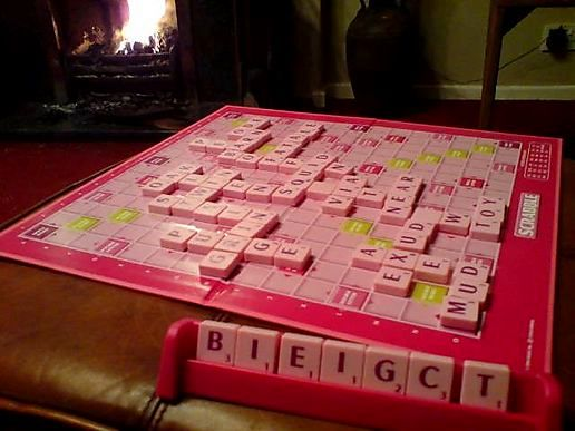 I love scrabble (even though I'm rubbish at it!)