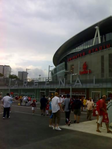 new arsenal ground
