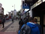 Waiting for the iphone5 outside another O2 store