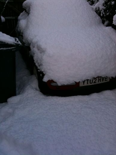 Yep, still snowed in!