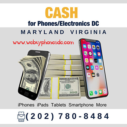 Sell My Phone Cash DC Maryland Virginia