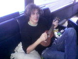 Merch man tim on the uke