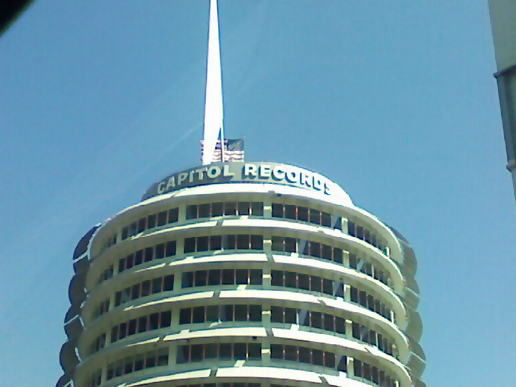 Capitol records in Hollywood