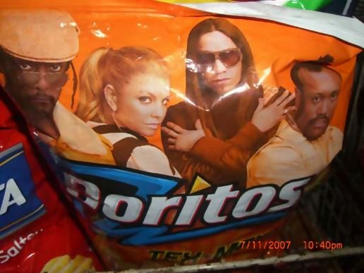 The Black Eyed Peas on Doritos